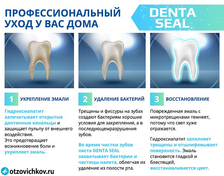 denta seal зубная паста