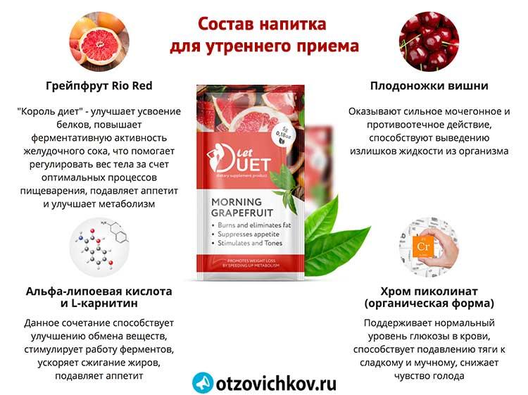 Грейпфрут на ночь похудение отзывы